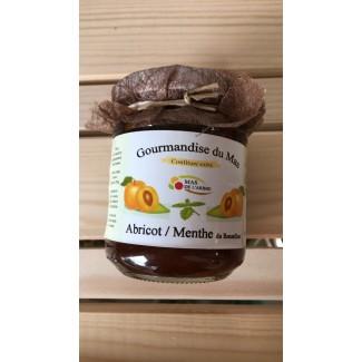 Confiture d'ABRICOT/ MENTHE 250 gr