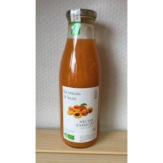Nectar d'abricot BIO 75 cl
