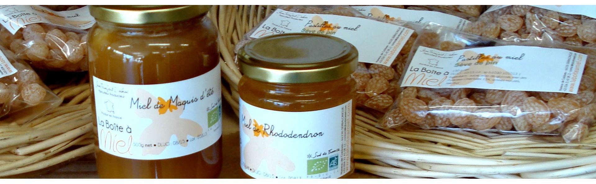 Miel et produits de la ruche  -